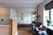 Фото 5 Дизайн студии площадью 30 кв. метров: современные проекты и продуманные планировки