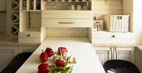 Как обустроить дизайн небольшой кухни 7 кв. м? Советы дизайнеров по планировке и отделке фото