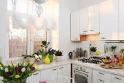 Фото 9 Как обустроить дизайн небольшой кухни 7 кв. м? Советы дизайнеров по планировке и отделке
