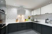 Фото 19 Как обустроить дизайн небольшой кухни 7 кв. м? Советы дизайнеров по планировке и отделке