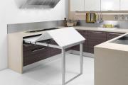 Фото 20 Как обустроить дизайн небольшой кухни 7 кв. м? Советы дизайнеров по планировке и отделке