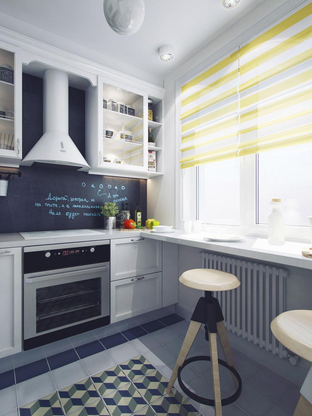 Дизайн современной кухни 7 метров 60 идей интерьера