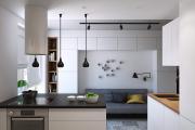 Фото 21 Как обустроить дизайн небольшой кухни 7 кв. м? Советы дизайнеров по планировке и отделке