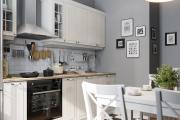 Фото 31 Как обустроить дизайн небольшой кухни 7 кв. м? Советы дизайнеров по планировке и отделке