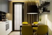 Фото 22 Как обустроить дизайн небольшой кухни 7 кв. м? Советы дизайнеров по планировке и отделке