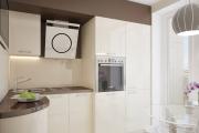 Фото 5 Как обустроить дизайн небольшой кухни 7 кв. м? Советы дизайнеров по планировке и отделке