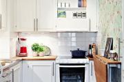 Фото 16 Как обустроить дизайн небольшой кухни 7 кв. м? Советы дизайнеров по планировке и отделке