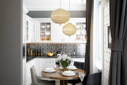 Фото 24 Как обустроить дизайн небольшой кухни 7 кв. м? Советы дизайнеров по планировке и отделке