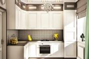 Фото 26 Как обустроить дизайн небольшой кухни 7 кв. м? Советы дизайнеров по планировке и отделке