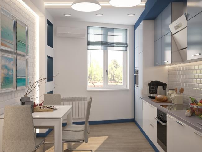 Малогабаритная кухня - это не приговор, а возможность проявить фантазию и креатив