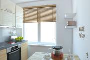 Фото 28 Как обустроить дизайн небольшой кухни 7 кв. м? Советы дизайнеров по планировке и отделке
