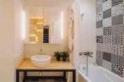 Фото 23 Компактность и продуманность: создаем дизайн интерьера квартиры 38 кв. метров