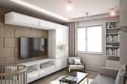 Фото 24 Компактность и продуманность: создаем дизайн интерьера квартиры 38 кв. метров