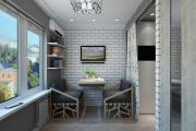 Фото 10 Компактные решения: создаем дизайн студии площадью 25 кв. метров с балконом