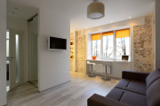 Фото 20 Компактные решения: создаем дизайн студии площадью 25 кв. метров с балконом