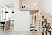 Фото 24 Компактные решения: создаем дизайн студии площадью 25 кв. метров с балконом