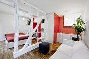 Фото 21 Компактные решения: создаем дизайн студии площадью 25 кв. метров с балконом