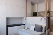 Фото 26 Компактные решения: создаем дизайн студии площадью 25 кв. метров с балконом