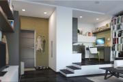 Фото 15 Компактные решения: создаем дизайн студии площадью 25 кв. метров с балконом