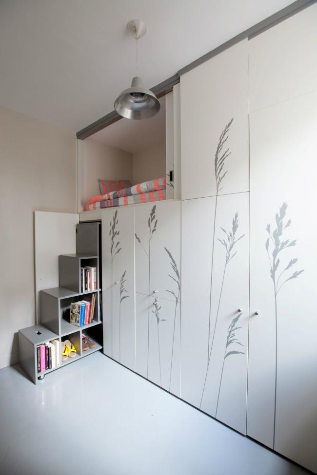 Дизайн студии 25 кв