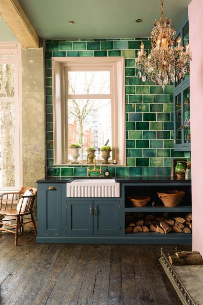 Красивые оттенки плитки создадут уют и гармонию в помещении