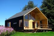 Фото 1 Загородный дом экономкласса (60+ фото проектов): советы экспертов — как с умом сэкономить на строительстве?