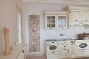 Фото 10 Фреска на кухне в интерьере: обзор ярких дизайнерских идей и способы укладки своими руками