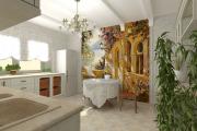 Фото 3 Фреска на кухне в интерьере: 60+ утонченных дизайнерских идей и способы укладки