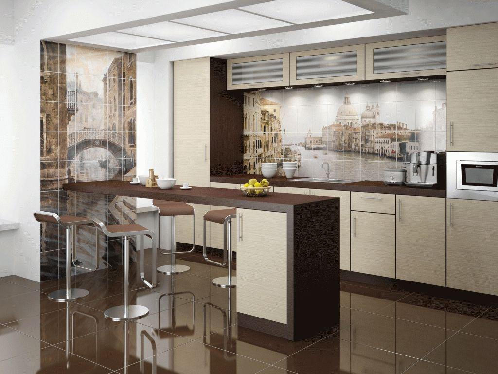 Фреска на кухне в интерьере 60 роскошных фотоидей