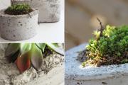 Фото 6 Кашпо, вазоны и горшки из бетона: мастер-класс по изготовлению своими руками