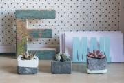 Фото 10 Кашпо, вазоны и горшки из бетона: мастер-класс по изготовлению своими руками