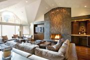 Фото 4 Гостиная 30 кв. метров: зонирование, дизайн-планировки и 65+ современных фото интерьеров