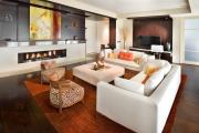 Фото 5 Гостиная 30 кв. метров: зонирование, дизайн-планировки и 65+ современных фото интерьеров