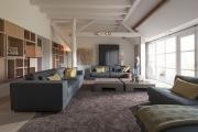 Фото 7 Гостиная 30 кв. метров: зонирование, дизайн-планировки и 65+ современных фото интерьеров