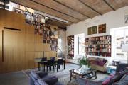 Фото 9 Гостиная 30 кв. метров: зонирование, дизайн-планировки и 65+ современных фото интерьеров