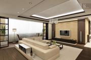 Фото 29 Гостиная 30 кв. метров: зонирование, дизайн-планировки и 65+ современных фото интерьеров