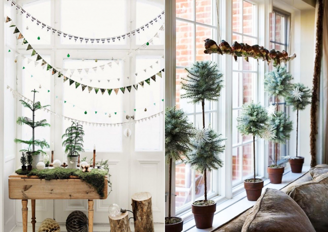 Красиво оформленное окно создаст особую атмосферу в Вашей комнате