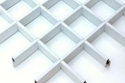 Фото 6 Кассетные потолки: современные виды, классификация и рейтинг проверенных брендов