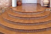 Фото 4 Керамическая плитка для лестницы (60+ фото): виды, варианты укладки и советы экспертов