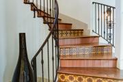 Фото 7 Керамическая плитка для лестницы (60+ фото): виды, варианты укладки и советы экспертов