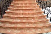 Фото 13 Керамическая плитка для лестницы (60+ фото): виды, варианты укладки и советы экспертов