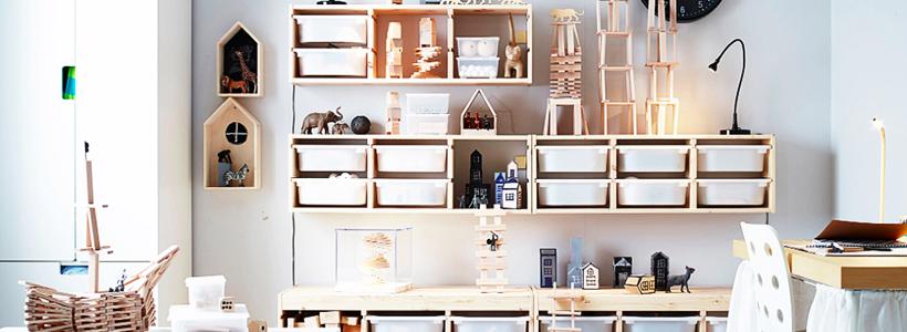 Коробки для хранения вещей: обзор стильных и функциональных вариантов от IKEA и Leroy Merlin