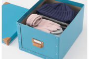 Фото 8 Коробки для хранения вещей: обзор стильных и функциональных вариантов от IKEA и Leroy Merlin