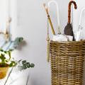 Виды корзин для зонтов: обзор готовых вариантов и стильные идеи своими руками фото