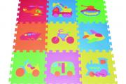 Фото 19 Детские коврики-пазлы для ползания: обзор вариантов и советы родителям по выбору