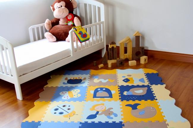 Яркий и практичный коврик