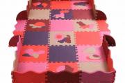 Фото 1 Детские коврики-пазлы для ползания: обзор вариантов и советы родителям по выбору