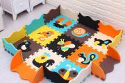 Фото 18 Детские коврики-пазлы для ползания: обзор вариантов и советы родителям по выбору