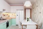 Фото 5 Дизайн кухни 8 кв. метров: функциональные идеи и современные варианты отделки
