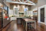 Фото 7 Дизайн кухни в деревенском доме: 70+ лучших фотоидей для уютного кантри, теплого шале или утонченного прованса